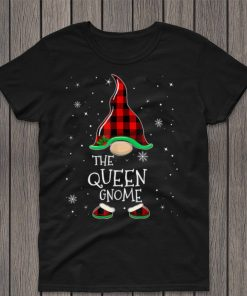 Queen Gnome Family Matching Christmas Group Gift Pajama T Shirt